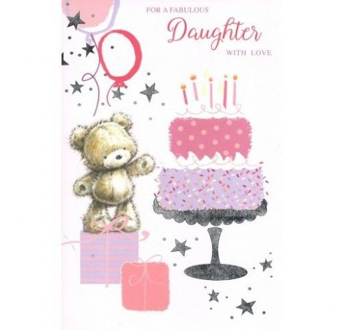For a Fabulous Daughter with Love 75FR307